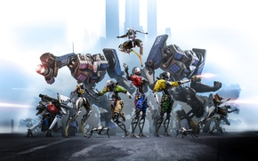 Картинка Epic Games, Key Art, Robo Recall