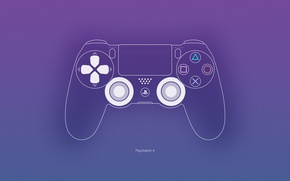 Картинка Dualshock, PS4, Console, Gamepad
