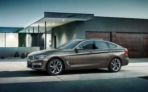 Картинка бмв, BMW, 3 series, гран туризмо, Gran Turismo, 2015