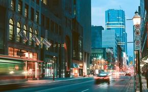 Картинка Канада, Toronto, Street Photography, Yonge Street