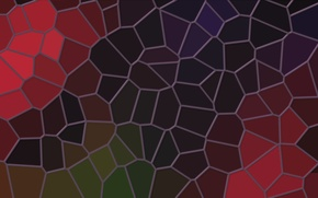 Картинка мозаика, фон, абстракция, линии, обои, цвет, текстура, Витраж