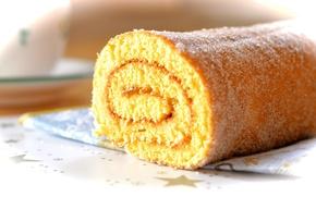 Картинка выпечка, сладкое, sweet, бисквит, рулет, biscuit, baking