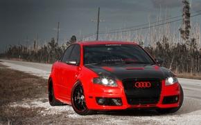 Обои Audi, Авто, Дорога, Ауди, Тюнинг, Машины, Карбон, Tuning, RS4