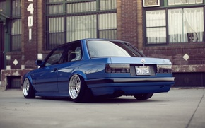 Картинка BMW, E30, Clean, Stance, Low, BellyScrapers