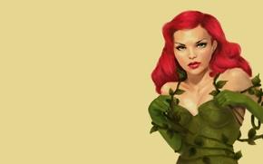Картинка poison ivy, Dr. Pamela Lillian Isley, Ядовитый плющ