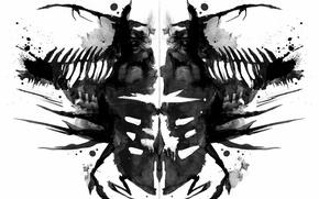 Картинка Dead Space, art, тест Роршаха