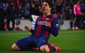 Картинка клуб, barca, гол, барселона, Barcelona, футбольный, барса, Luis Suarez, Луис Суарес