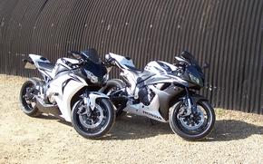 Обои мотоциклы, хонда, honda, cbr 1000 rr, cbr 600 rr