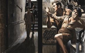 Обои война, картина, шпион