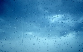 Картинка фон, капли макро, water drops macro