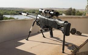 Картинка оружие, оптика, винтовка, снайперская, сошка