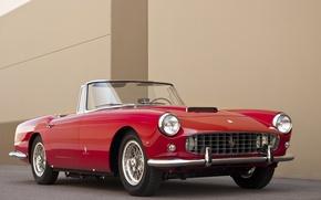 Картинка Ретро, Ferrari, Red, Car, Автомобиль, 250