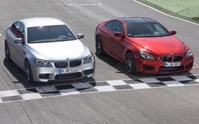 Картинка трасса, BMW, вид спереди, автомобили, and, Competition Package, M6 Coupe