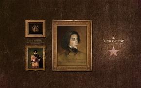 Картинка музыка, картина, майкл джексон, king of pop, певец