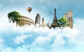 Картинка sky, travel, monuments, famous places