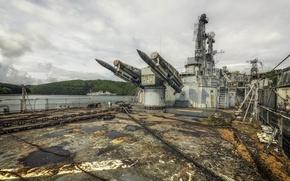 Картинка оружие, корабль, ракеты