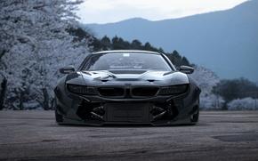 Обои i8, BMW, Concept, Tuning, Future, Japan, Car, Sakura