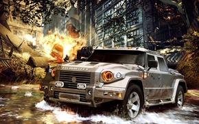 Картинка автомобиль, Combat t-98, крутой броневик, Комбат
