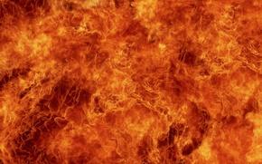 Обои Огонь, красиво, взрыв