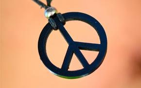 Картинка знак, хиппи, пацифик, крест мира