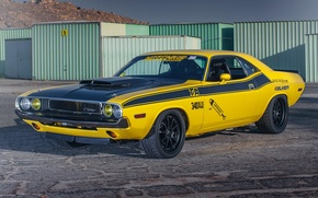 Картинка Dodge, Challenger, Forgeline, ZX3R Wheels, '70