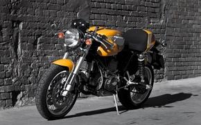 Картинка Cafe Racer, классический мотоцикл, Ducati Sportclassic