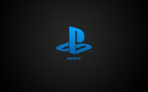 Картинка Logo, Hi-Tech, PS4, Sony, Console, Sony Playstation, Playstation 4
