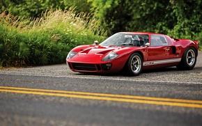 Картинка Ford, суперкар, форд, GT40