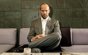 Картинка костюм, актер, мужчина, Jason Statham, Джейсон Стэйтем