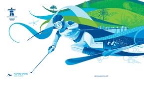 Картинка лыжи, ванкувер, олимпиада 2010