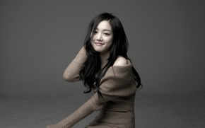 Картинка Girl, Asian, Beauty, Background, Actress, Cute, Korean, Lee Yoo Bi