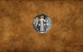 Картинка Jesus, St. Benedict, catholic church, St. Benedict of Nursia