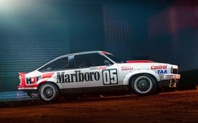 Картинка профиль, race car, Holden, холден, profile, Castrol, Marlboro, торана, A9X, Torana