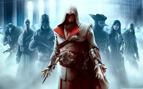 Обои brotherhood, игры, assassins creed