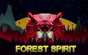 Картинка лес, сова, forest, owl