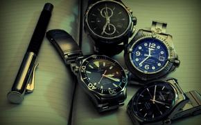 Картинка Omega, watch, Hamilton, Certina