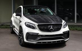 Картинка белый, Mercedes-Benz, мерседес, кроссовер, TopCar, C292, GLE-Class