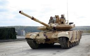 Картинка Танк, Russia, Т-90, УВЗ, Arms EXPO 2013, Т-90СМ