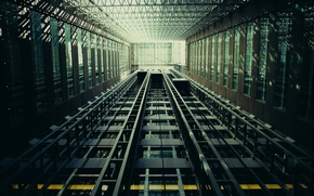 Картинка лифт, разное, строения, кабеля, тросы