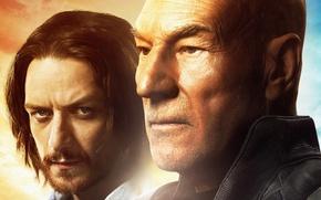 Картинка James McAvoy, Patrick Stewart, Charles Xavier, Люди Икс: Дни минувшего будущего, X-Men: Days of Future ...