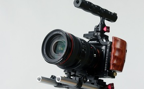 Картинка объектив, Sony, фотокамера
