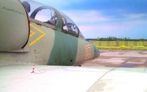 Картинка аэродром, Авиация, Л-39