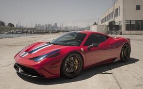 Картинка Ferrari, 458, Italia, Speciale