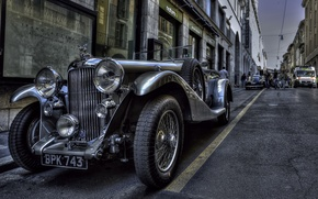 Картинка hdr, style, retro, coupe, chrome, oldtimer, BRESCIA MMIGLIA