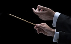 Картинка hands, orchestra, Conductor