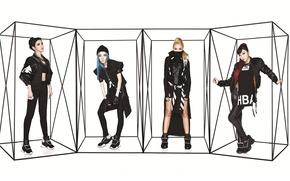 Картинка музыка, девушки, азиатки, Южная Корея, 2NE1, K-pop