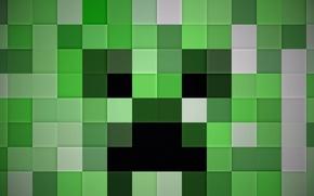 Обои фон, world, creeper, Minecraft
