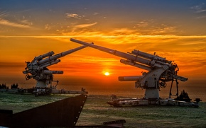 Картинка войны, пушка, орудие, второй, мировой, Flugabwehrkanone, FlaK 36, 88-мм зенитная