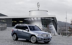 Обои Mercedes, GLK, Hybrid