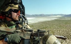 Картинка soldier, military, watch, US Army, Door